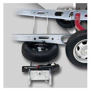 Reservehjulsholder til vogne med AL-KO undervogn