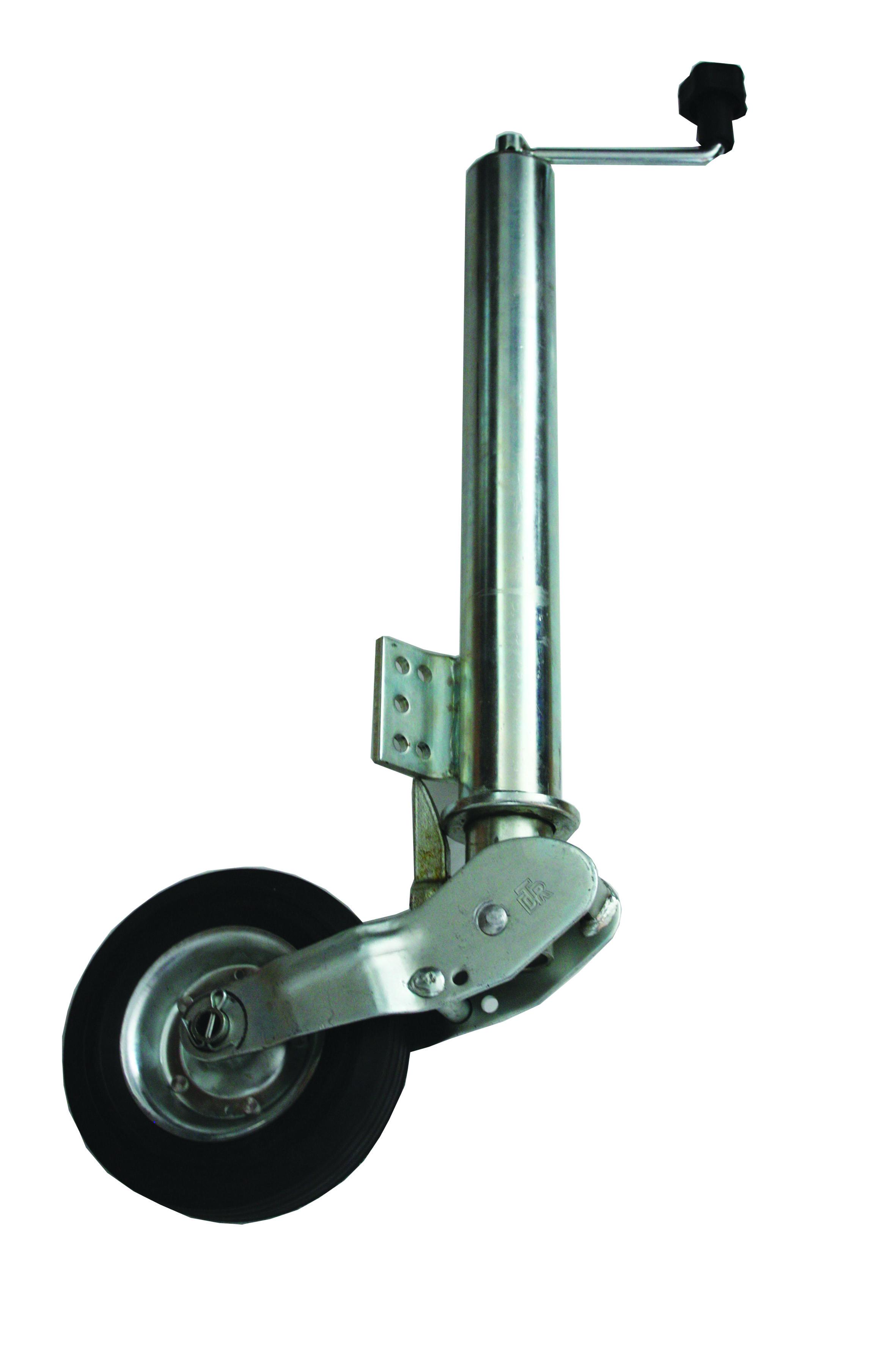 9f5648f9432 JS Trailer Parts fuldautomatisk klapbart støttehjul - næsehjul.