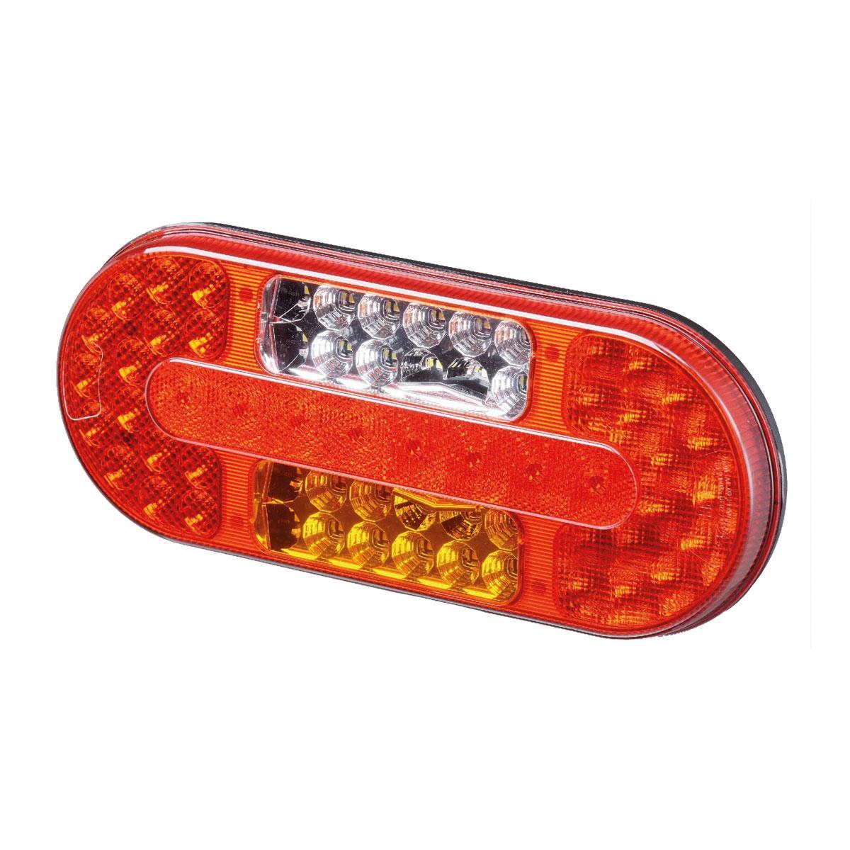Fantastisk LED trailer baglygte Venstre 10-30 V m/tåge og baklys. - JS DN37