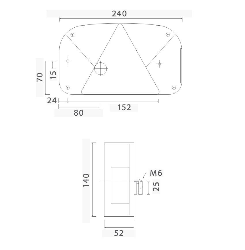 kvalitet tilhenger baklykter fra asp ck multipoint 2 tilhenger baklys. Black Bedroom Furniture Sets. Home Design Ideas