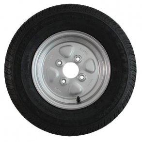 8'' komplette trailerhjul med dæk og fælg