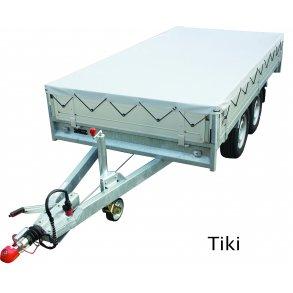 Presenning för Tiki släpvagn