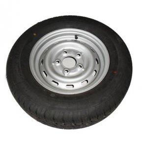 Komplette hjul, dæk & fælge til trailer og campingvogn.