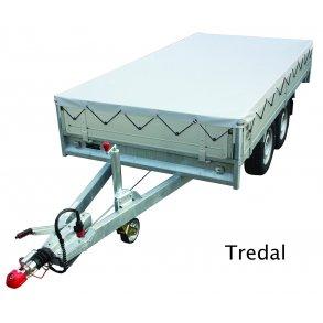 Presenning för Tredal släpvagn